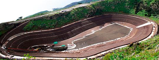 Topógrafo para la Central Hidroeólica del Hierro